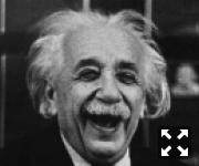 Альберт Энштейн веселится