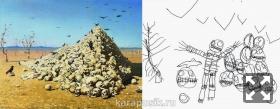 Апофеоз войны рисуют дети